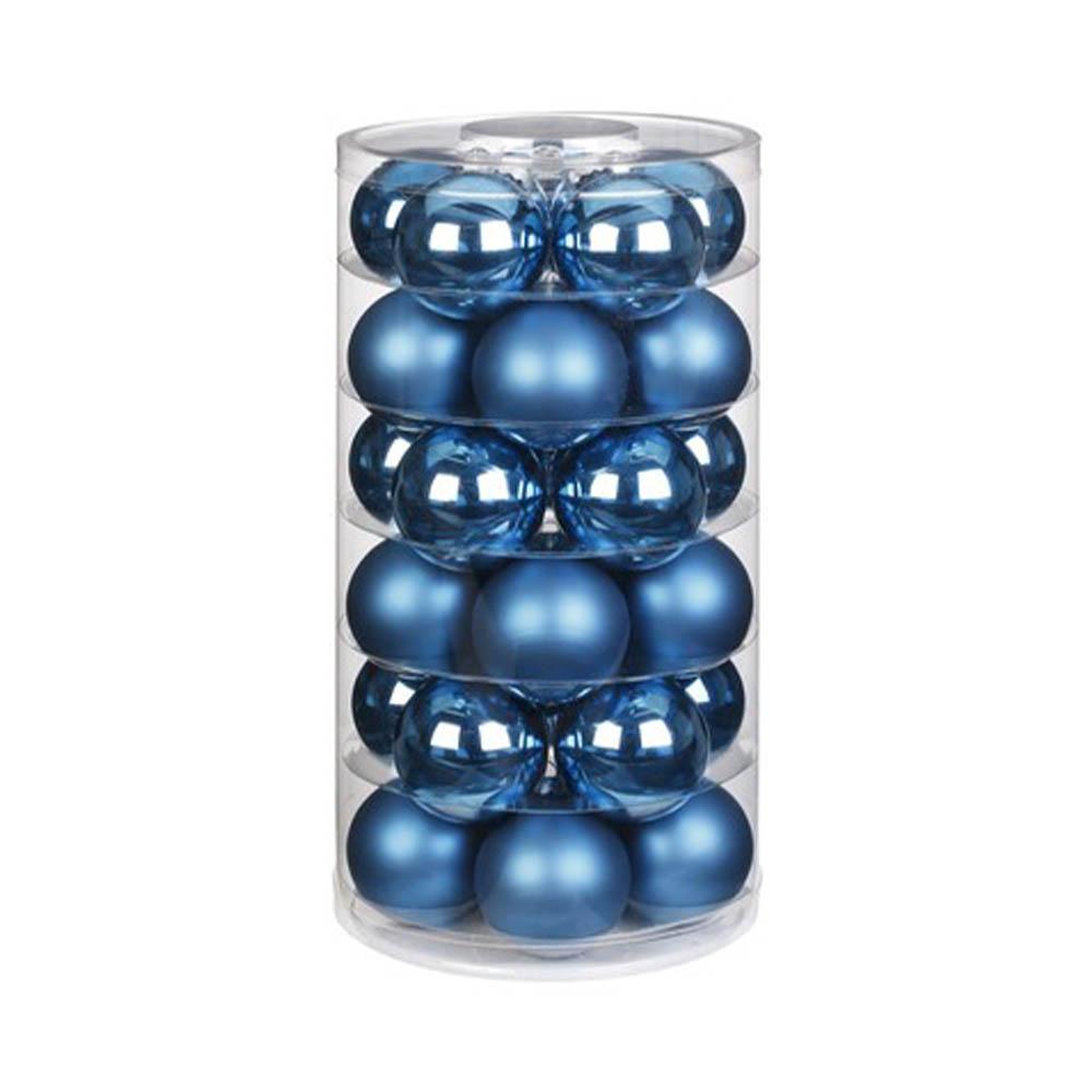 Weihnachtsbaumschmuck Kugeln blau